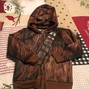Chewbacca zip up